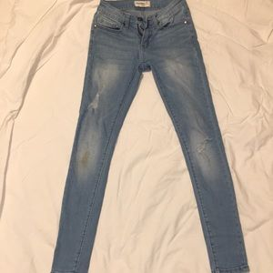 Denim - skinny light jeans